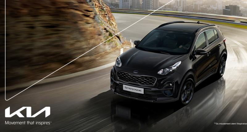 Découvrez le Kia Sportage Hybride Black Edition