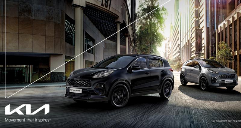 Découvrez le Kia Sportage Hybride Black Edition