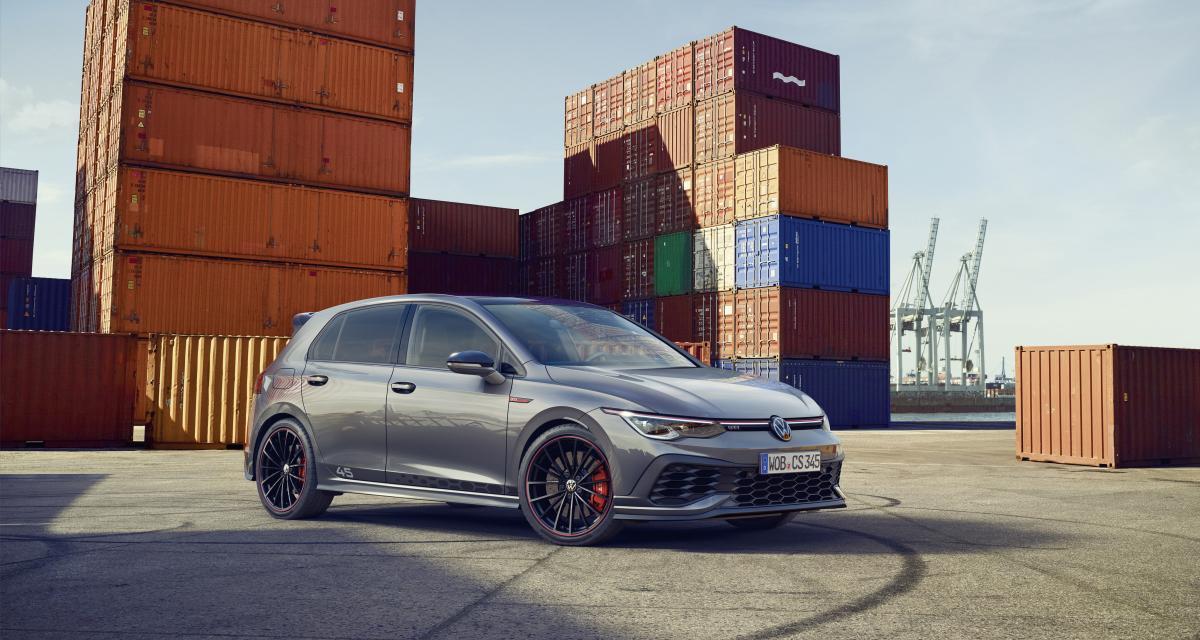 Volkswagen Golf 8 GTI Clubsport 45 : 300 ch pour les 45 ans de la compacte sportive - Autonews