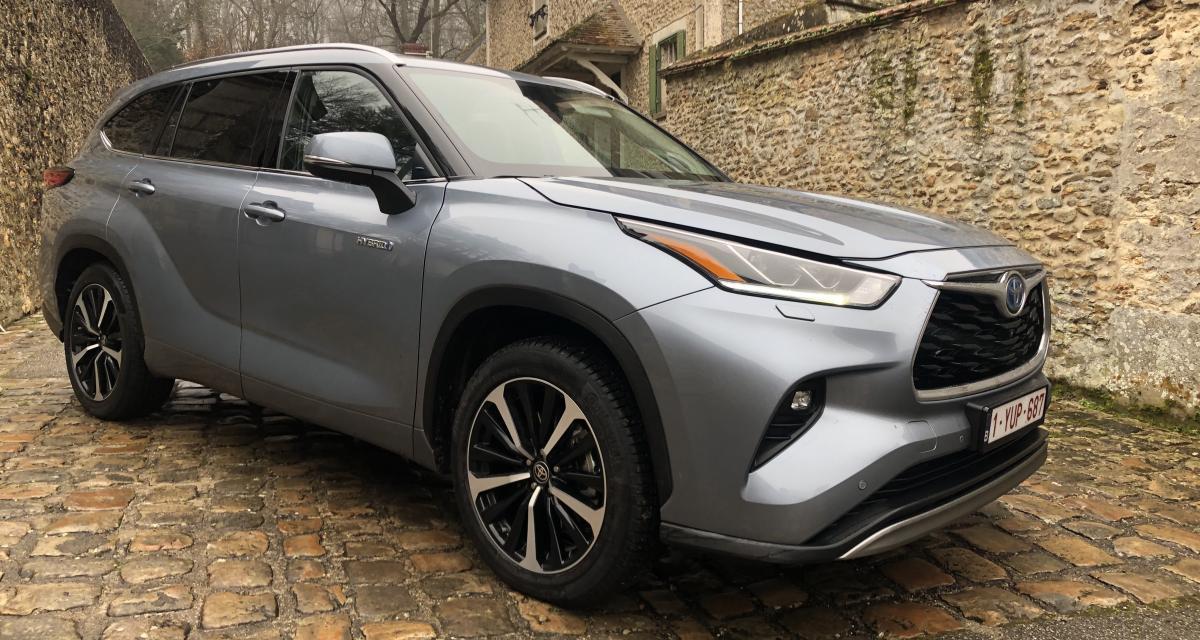Essai Toyota Highlander Hybride : inédit en Europe, inédit en hybride - Autonews