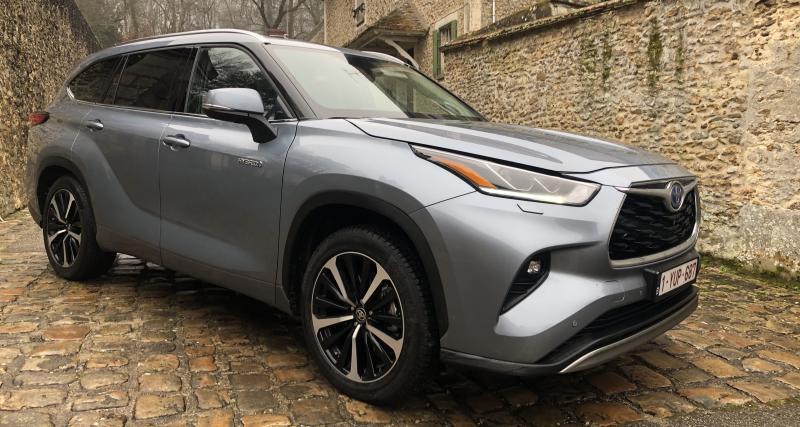 Essai Toyota Highlander Hybride : inédit en Europe, inédit en hybride