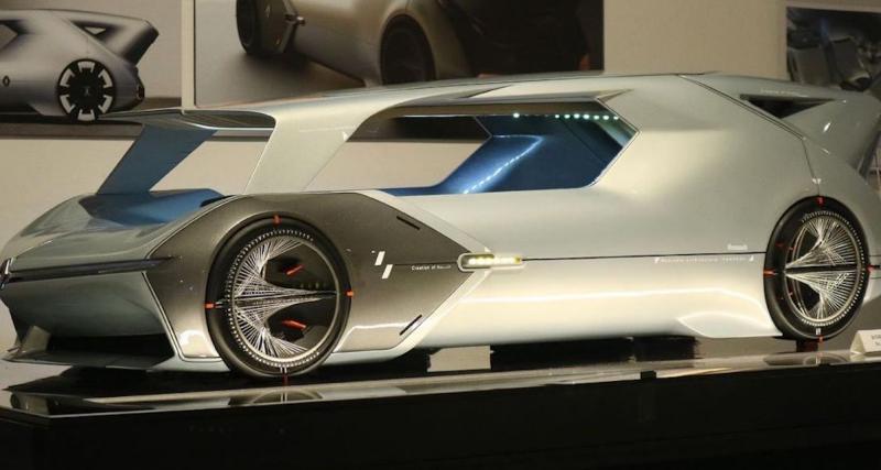 Renault Pantheon : un concept-car inspiré d'un temple romain ?