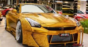 550.000$ pour cette Nissan GT-R plaquée or de 820 chevaux, une affaire !