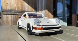 Porsche 911 version Lego : nos photos de la sportive allemande assemblée