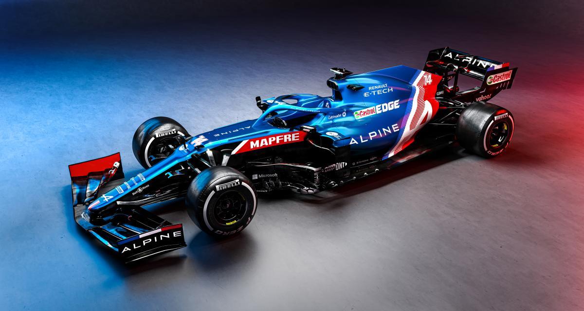 F1 : les photos de l'Alpine A521 d'Alonso et Ocon