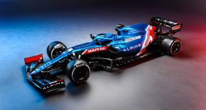 F1 : les photos de l'Alpine A521 d'Alonso et Ocon