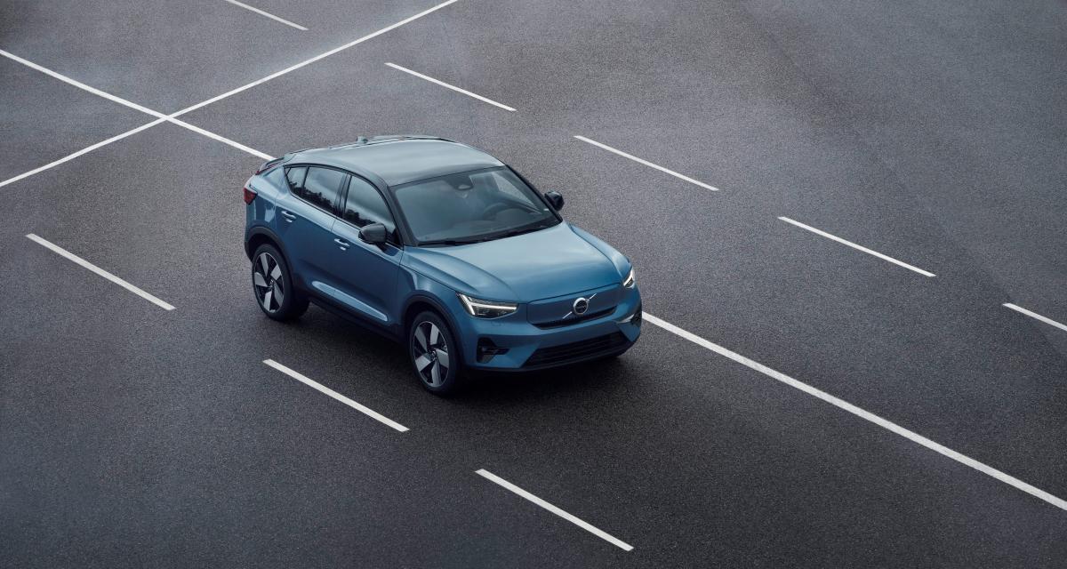 Nouveau Volvo C40 Recharge (2021) : déjà un premier SUV coupé et 100% électrique !