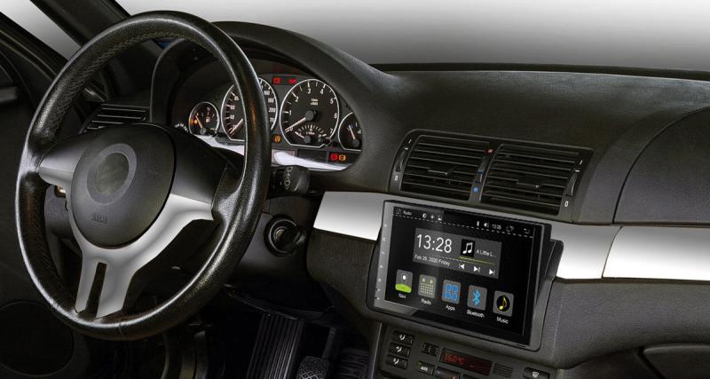 Radical dévoile un autoradio Android avec DAB pour les BMW E46