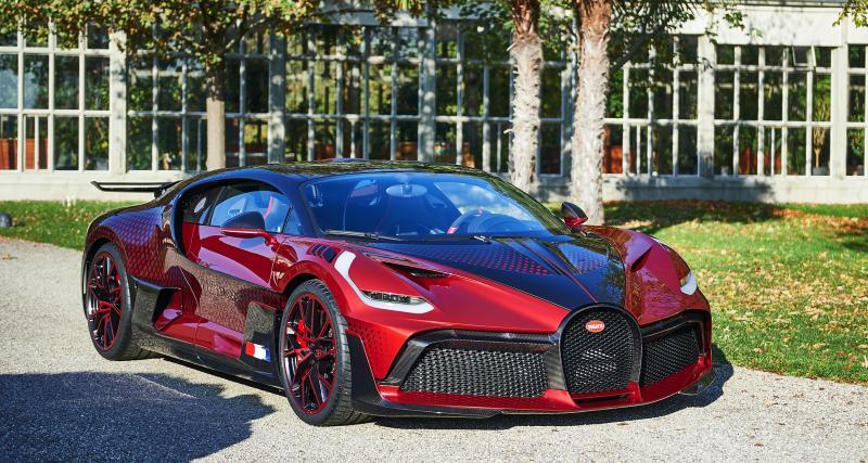 Bugatti Divo Lady Bug : un exemplaire unique traversé de 1 600 losanges