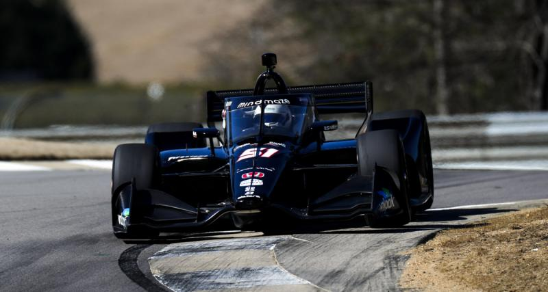La vidéo du premier test de Romain Grosjean en IndyCar