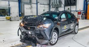 Le nouveau Cupra Formentor reçu 5 sur 5 au crash-test Euro NCAP