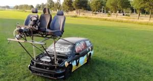 VIDEO - La WipKar, une voiture qui se conduit… de l'extérieur
