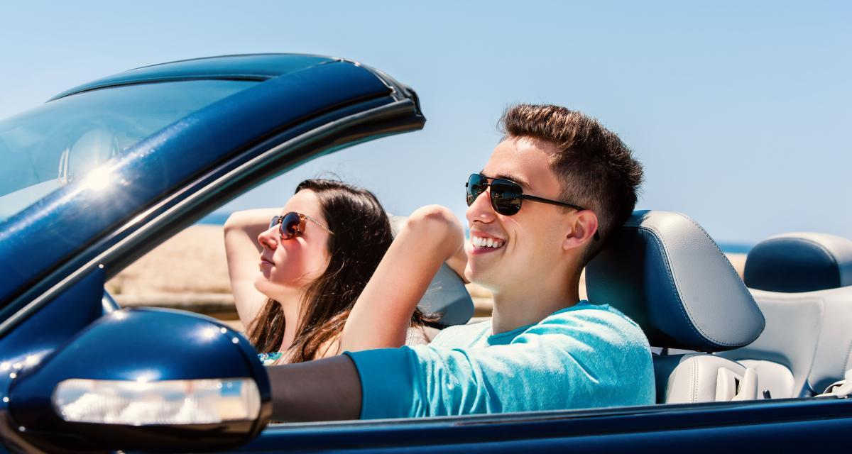 """Ils """"empruntent"""" la voiture de mamie pour une balade en amoureux, sans permis de conduire"""