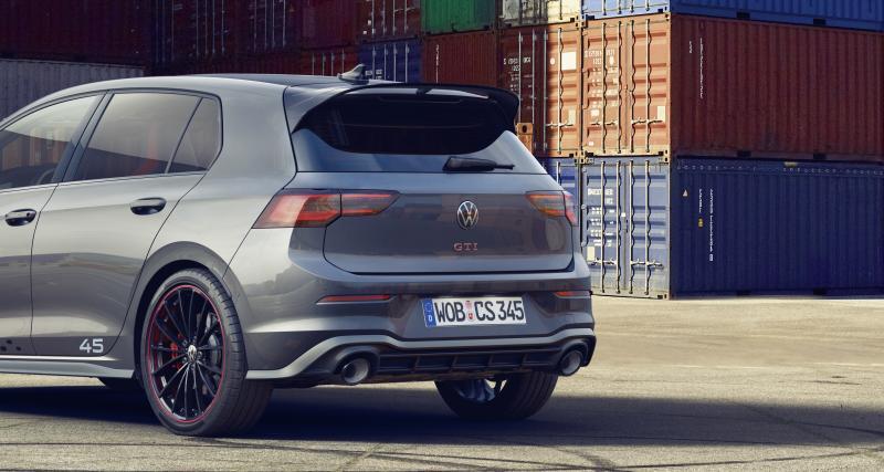 Livrée spéciale pour la Volkswagen Golf 8 GTI Clubsport 45