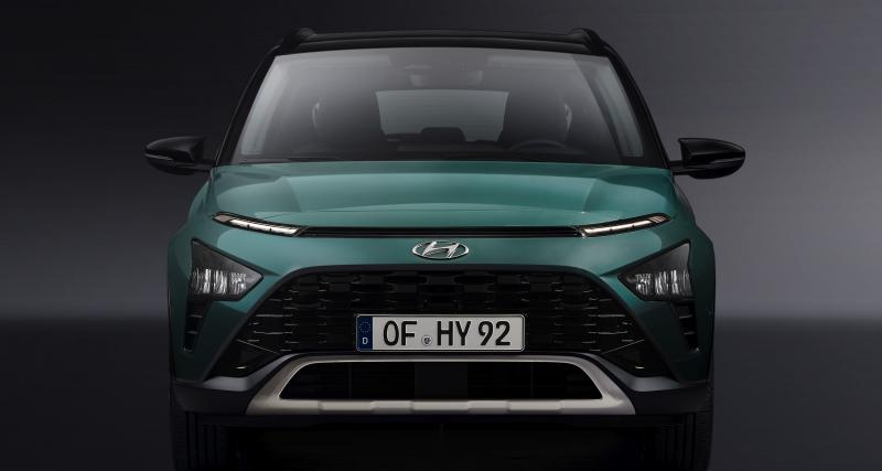 Hyundai Bayon (2021) : le SUV urbain dédié à l'Europe en 3 points