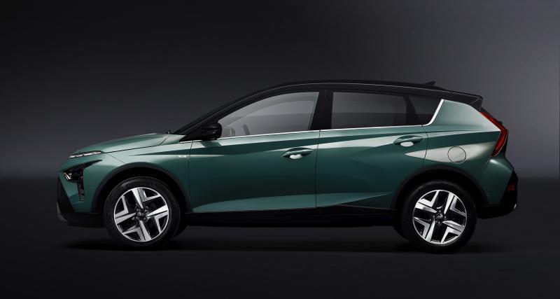Design extérieur : un Hyundai Bayon original
