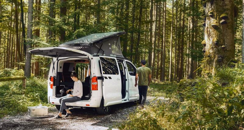 Camping-car compact et polyvalent