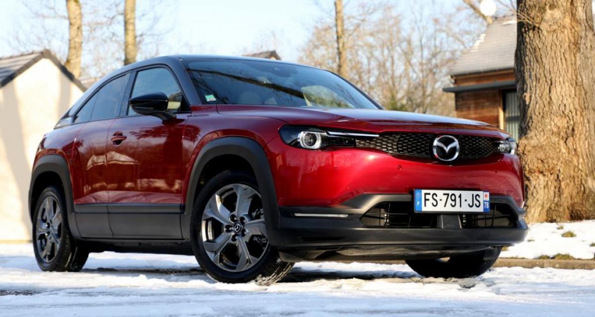 Mazda MX-30 100% électrique : l'oeil de l'expert