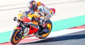 MotoGP : Bradl en tête d'un Shakedown perturbé par le vent