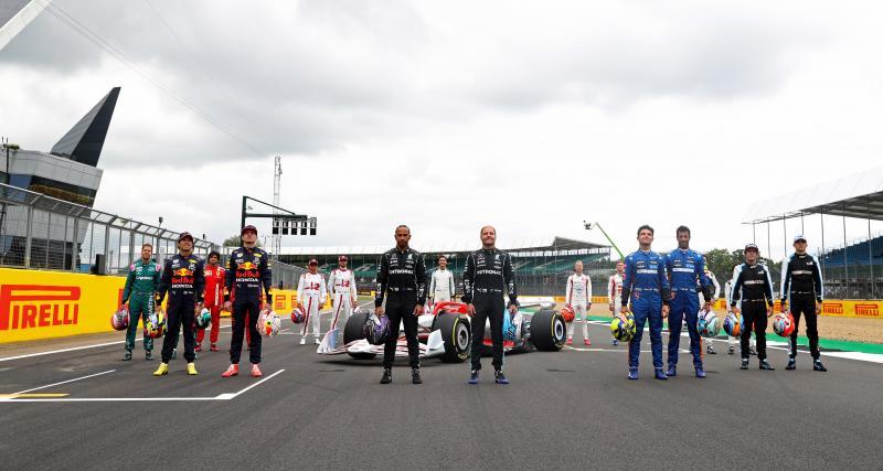 F1 saison 2021 : le classement pilotes