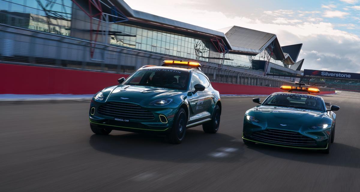 Safety Car : Aston Martin vient épauler Mercedes pour la nouvelle saison de F1
