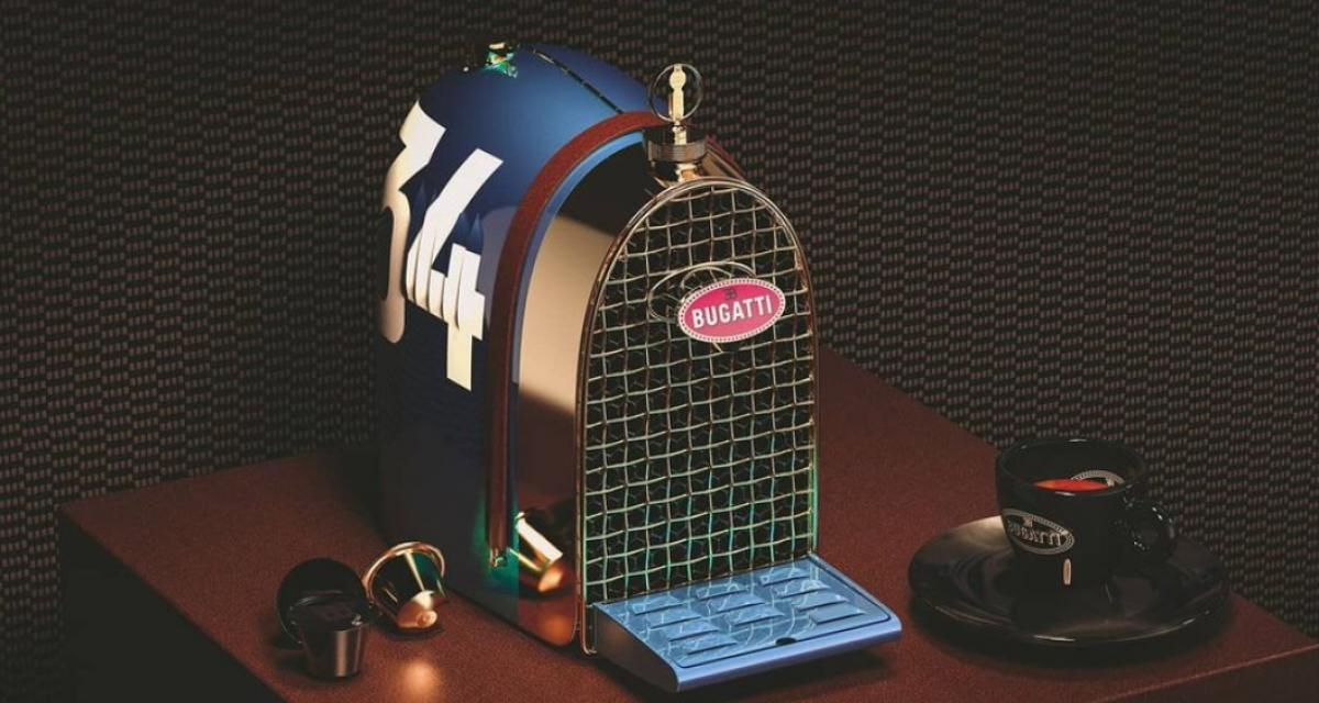 Une machine à expresso Bugatti pour boire son café à toute allure