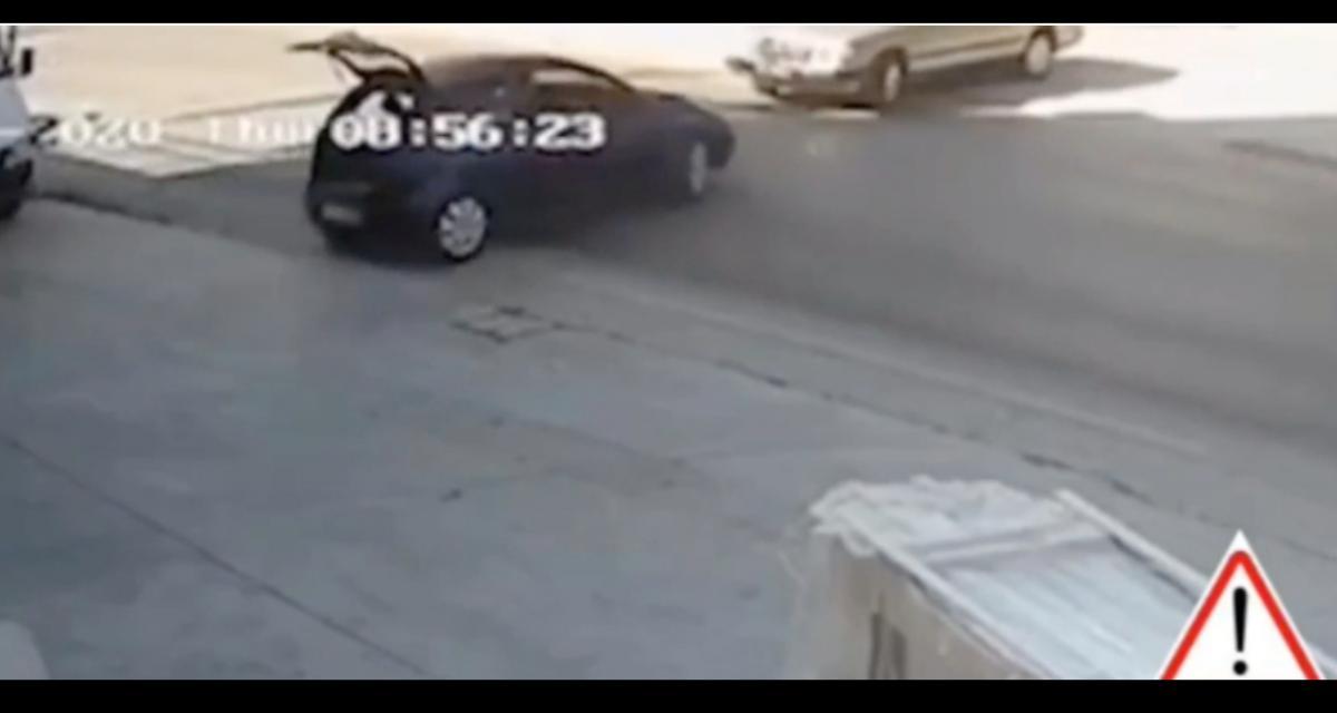 Les idiots du jour : quand ils se retrouvent face à face dans une intersection, assurément ça fait des dégâts