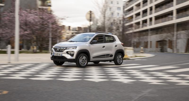 Nouvelle Dacia Spring (2021) : les prix et finitions