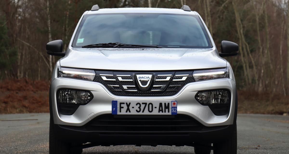 Nouvelle Dacia Spring Electric (2021) : les images de notre essai de la mini-citadine low-cost