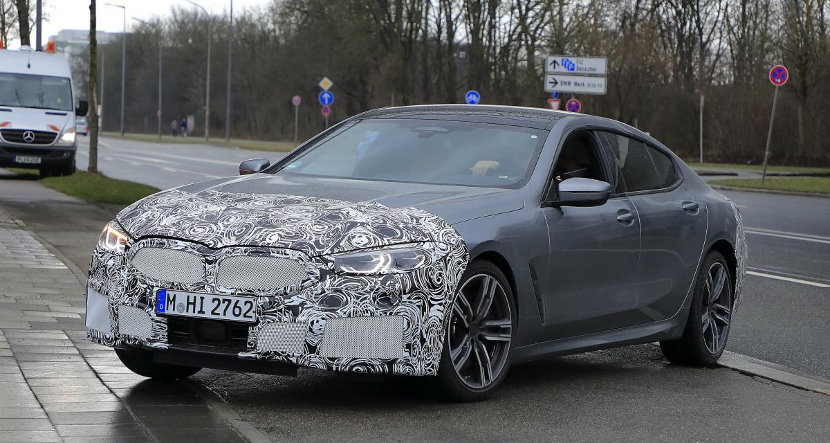 BMW Série 8 Gran Coupé (2022) : restylage de mi-carrière en perspective