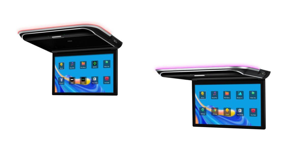 Xtrons présente un écran vidéo plafonnier sous Android idéal pour la vanlife