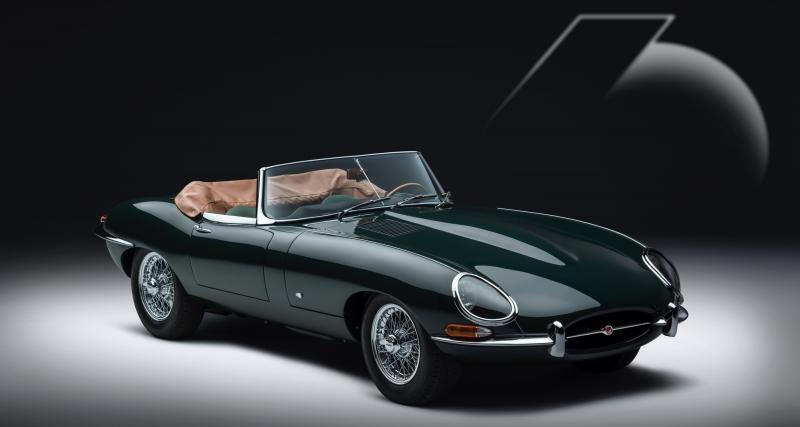 Jaguar : douze Type E neuves pour les 60 ans du modèle