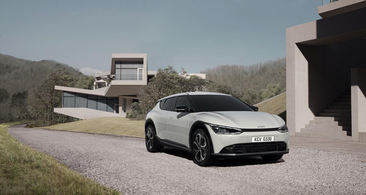 Nouveau Kia EV6 (2021) : crossover électrique de caractère