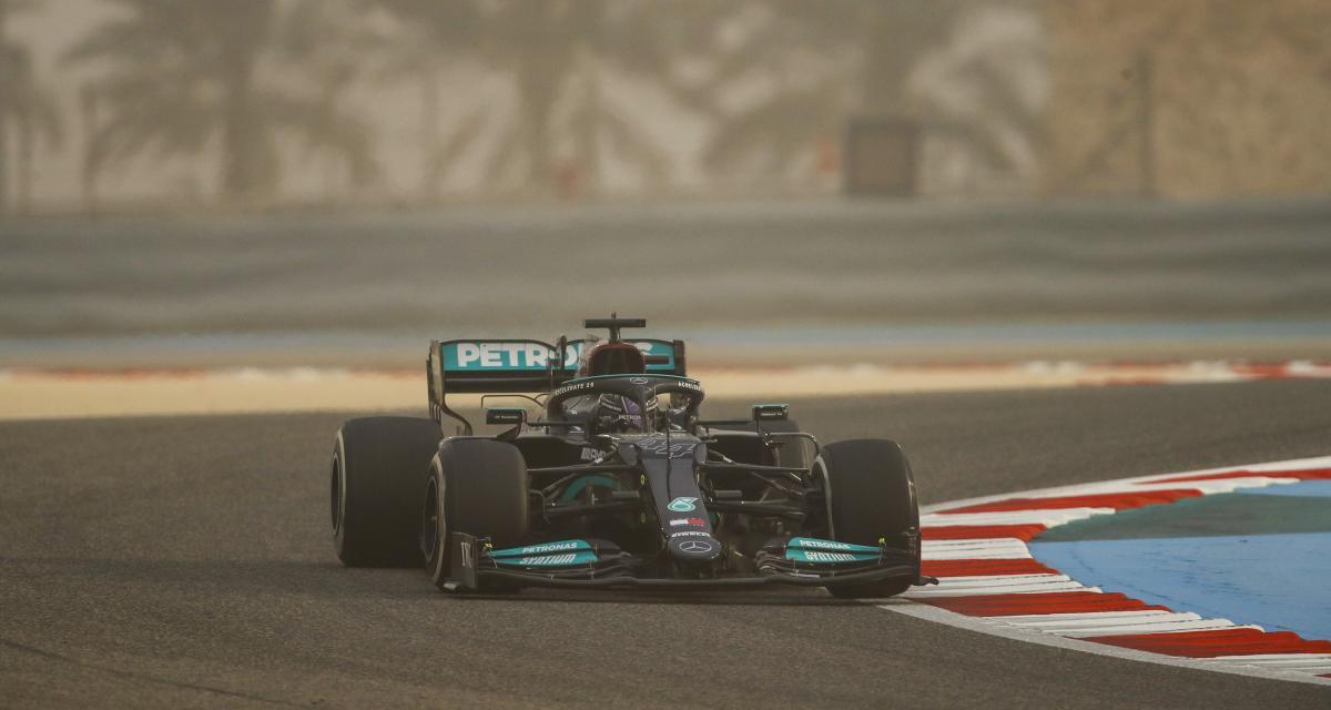 F1 - Mercedes-AMG : nombre de tours, chronos… le bilan des tests à Bahreïn