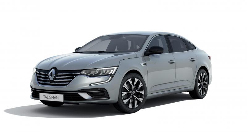 Nouvelle Renault Talisman Limited (2021) : pléthore d'équipements pour la berline en série limitée
