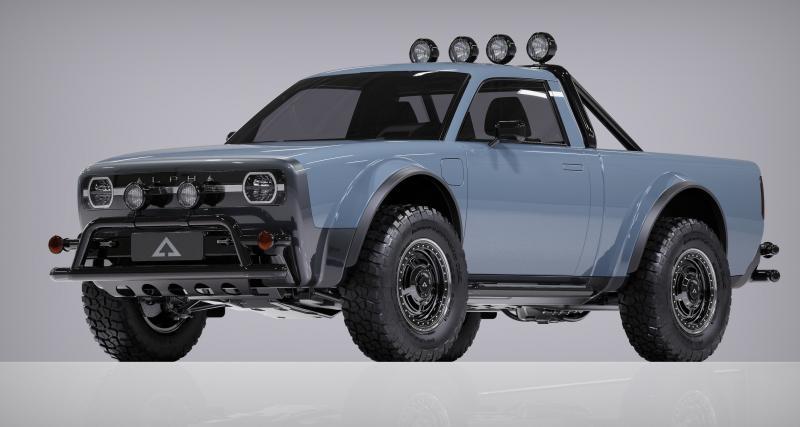 Alpha Wolf : un nouveau pick-up 100% électrique qui ne manque pas de charme