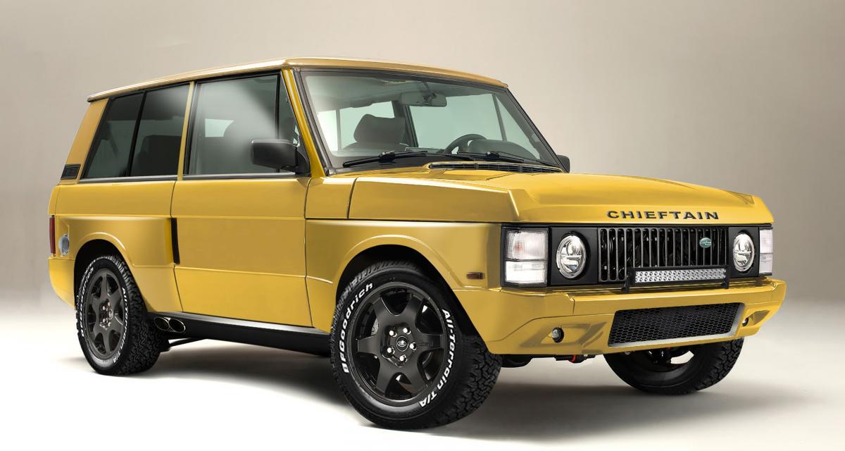 Range Rover Chieftain : une icône du tout-terrain au pays du restomod