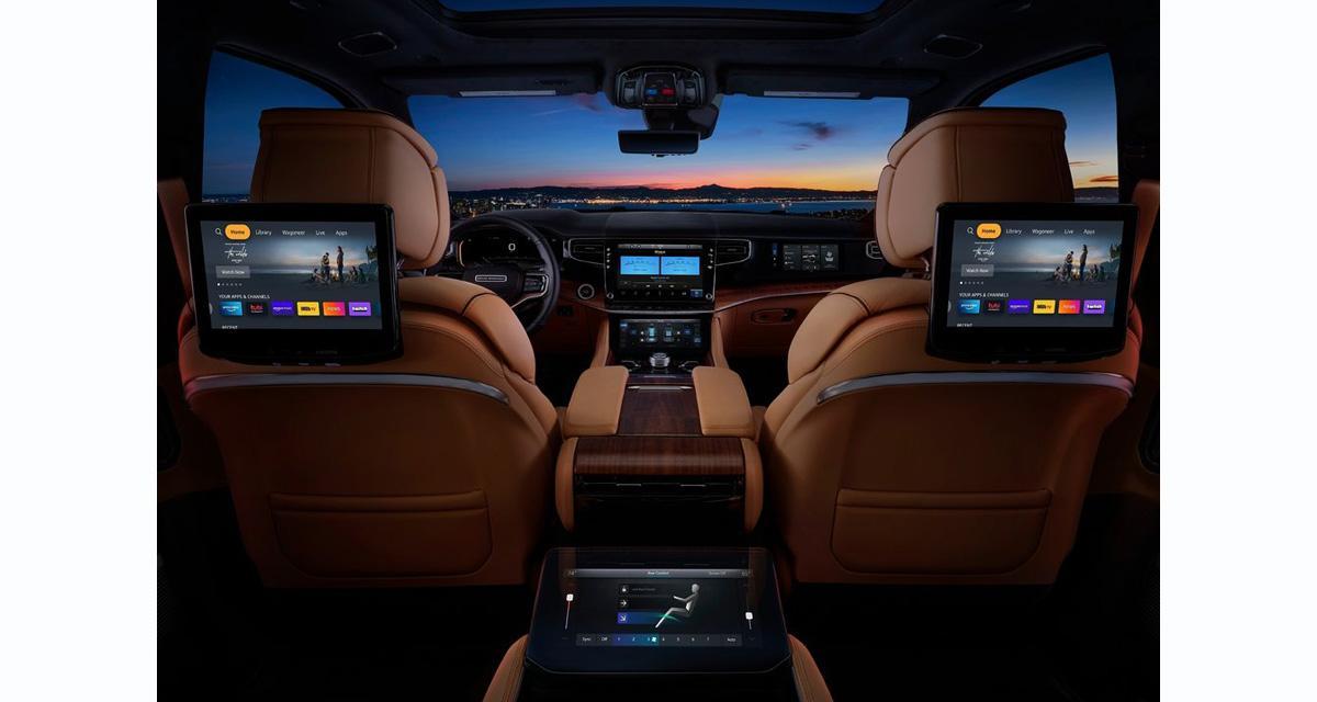 La Jeep Grand Wagoneer 2022 s'équipe d'un système hi-fi Mc Intosh
