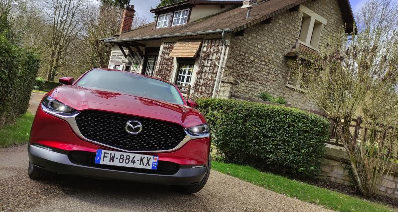 Essai du Mazda CX-30 e-Skyactiv X Sportline : nos photos du SUV urbain