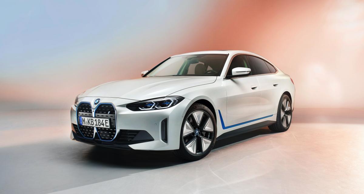 Future BMW i4 (2021) : un premier aperçu de la berline 100% électrique en version définitive