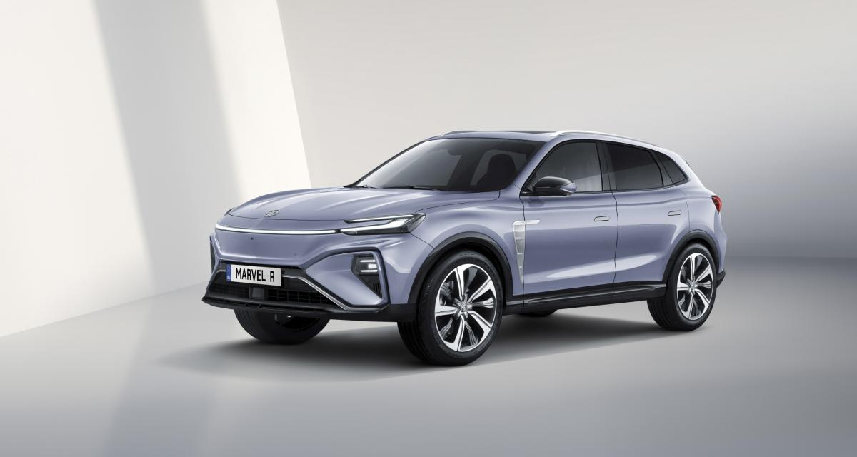 Nouveau MG Marvel R Electric (2021) : le SUV électrique qui va faire du bruit