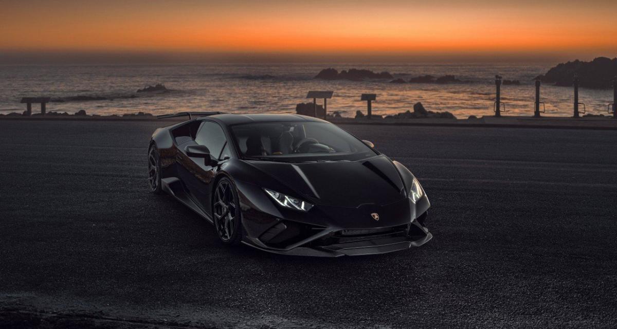 Lamborghini Huracán EVO RWD by Novitec : du carbone en pagaille pour la propulsion de 610 ch