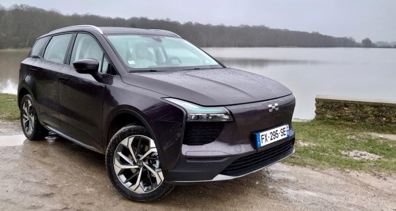 Essai de l'Aiways U5 : le SUV chinois électrique qui mise sur le prix et la forme