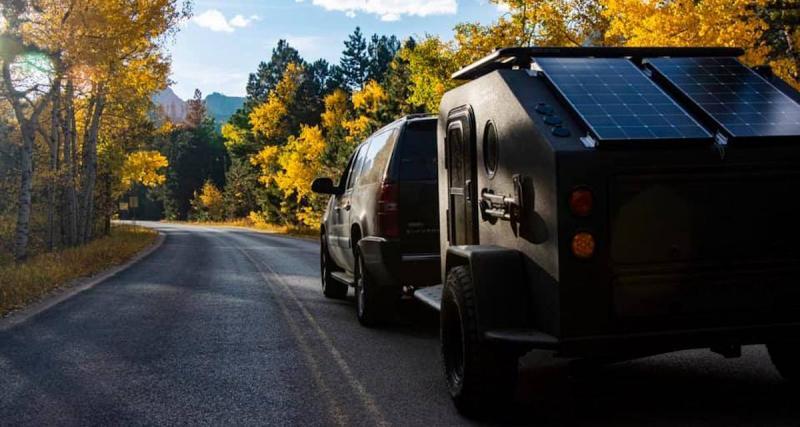 Colorado Campworks NS-1 : une mini caravane tout-terrain de luxe et 100% électrique