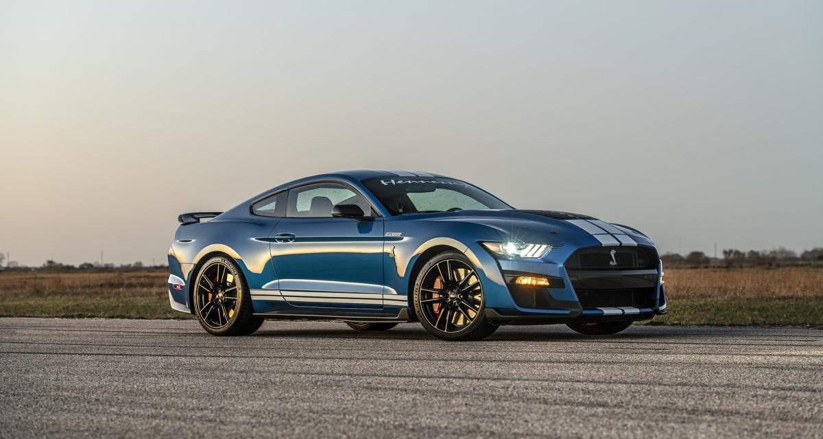 Hennessey Venom 1000 : la Mustang plus rapide qu'une Porsche 911 Turbo S