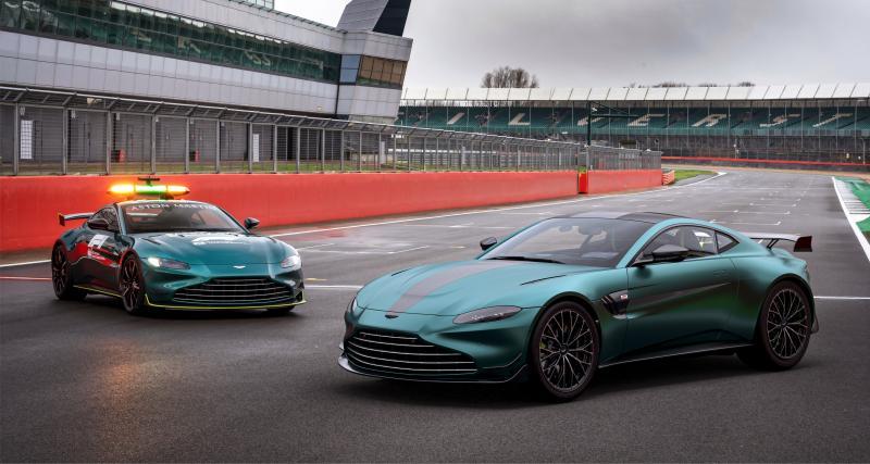 Aston Martin Vantage F1 Edition : inspiration safety-car pour cette performante série spéciale
