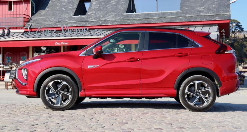 Essai du nouveau Mitsubishi Eclipse Cross PHEV : nos photos du SUV hybride rechargeable