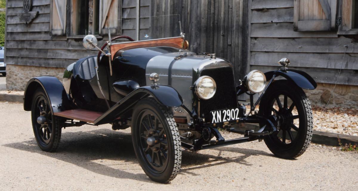 """Aston Martin """"A3"""" : le plus ancien véhicule de la firme britannique encore en circulation"""