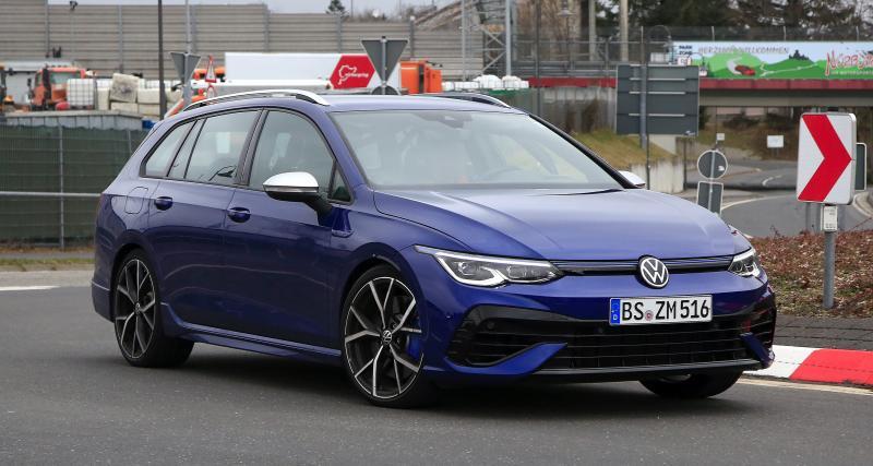 Future Volkswagen Golf 8 R SW : derniers préparatifs avant la présentation officielle