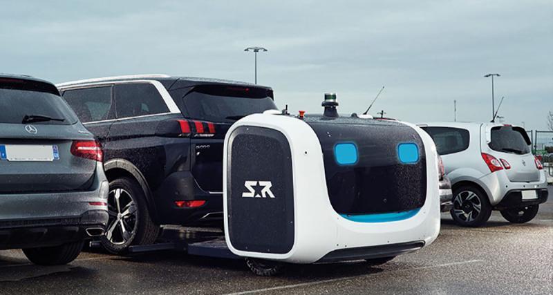 Stanley: le robot qui gare les voitures